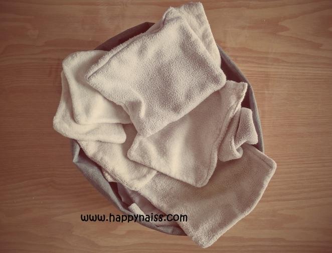 tutoriel diy carrés lavables bébé lingette