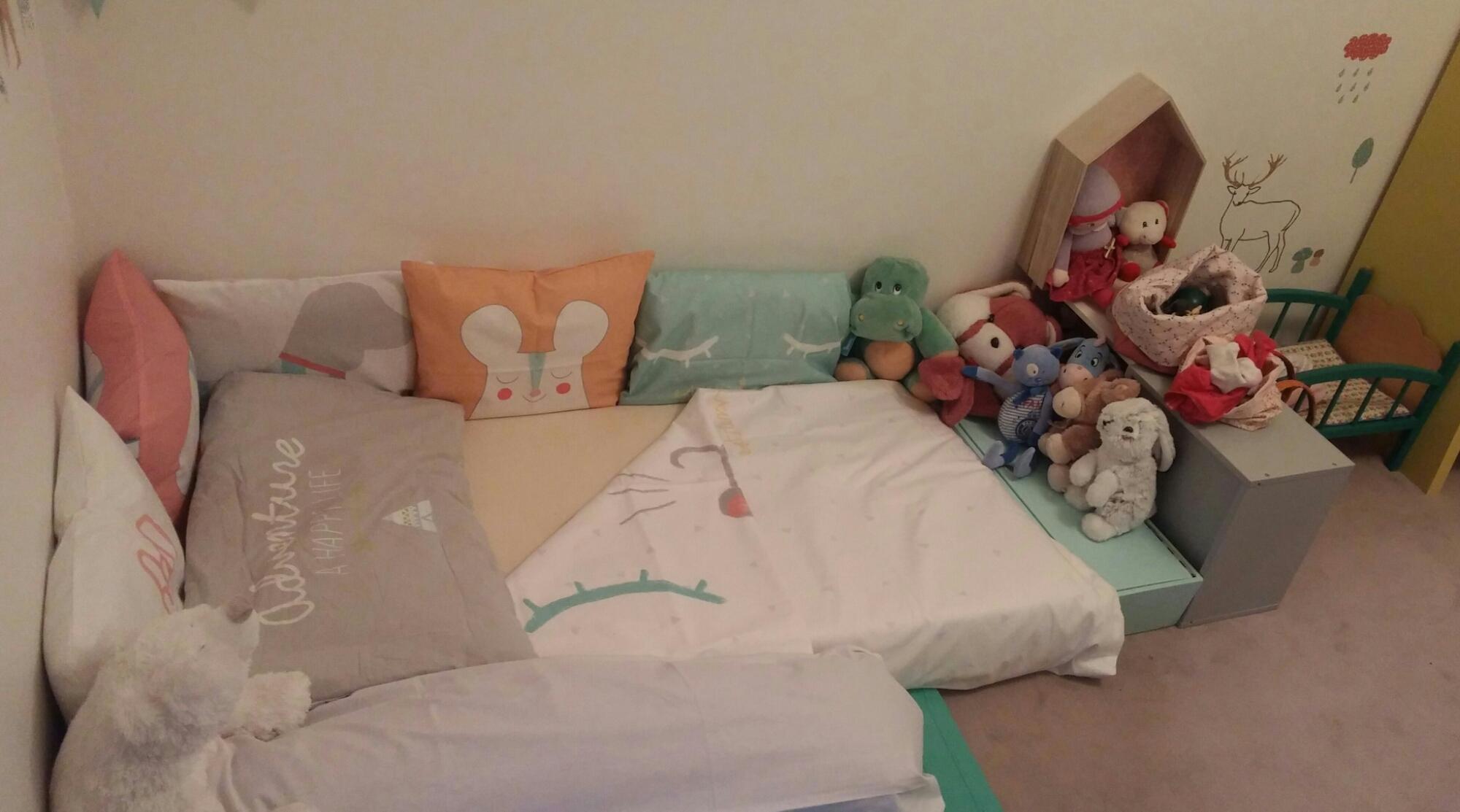 Lit Cabane Maman Louve notre lit d'inspiration montessori – happynaiss