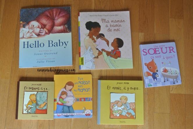 préparer l'arrivée bébé ainé bibliothèque