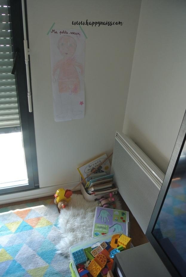 préparer arrivée bébé ainé matérialiser le temps