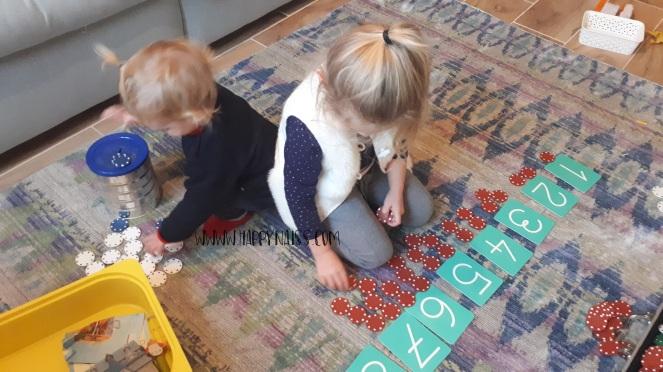 mathematiques montessori jetons paire impair